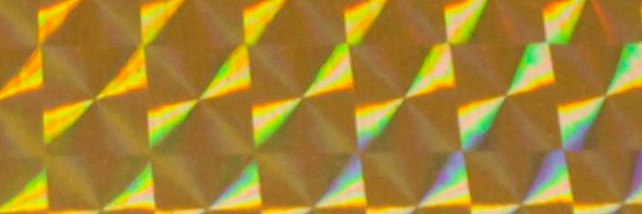 #1251 Fantasy Film 1/4 Mosaic Gold
