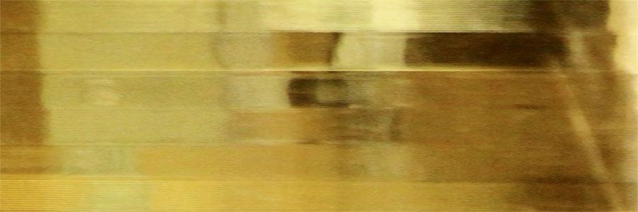 #1242 Lenticular Profile Lens Gold