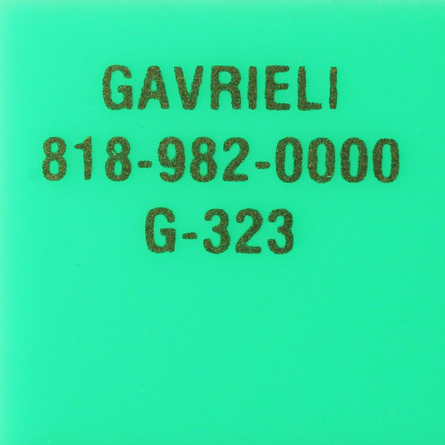 G-323 GREEN LIME (OPAQUE)
