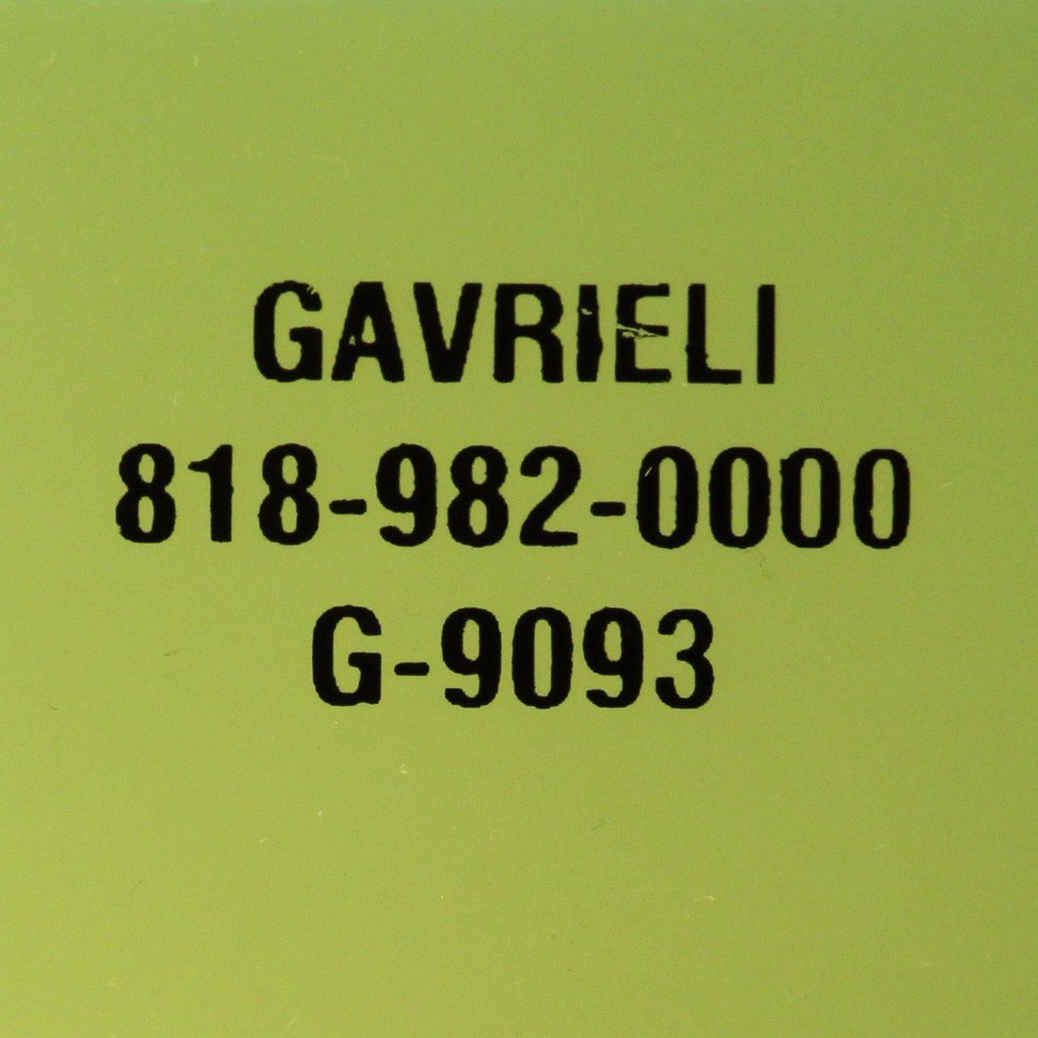 G-9093 GREEN FL