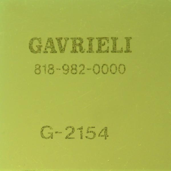 G-2154 GREEN FL