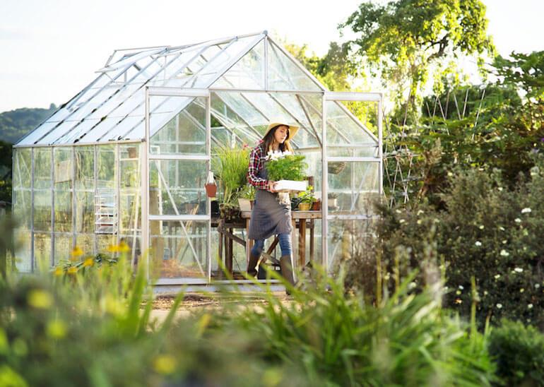 Gavrieli polycarbonate Greenhouse project